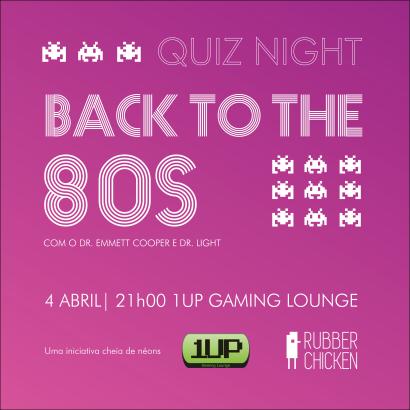 Back to the 80s quadrado