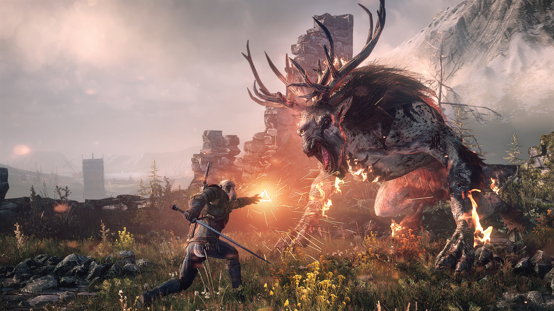 Gaming Zone com um developer de The Witcher 3